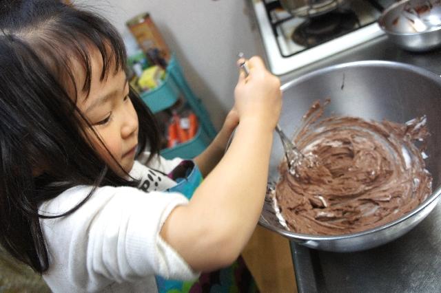 子供とチョコレート